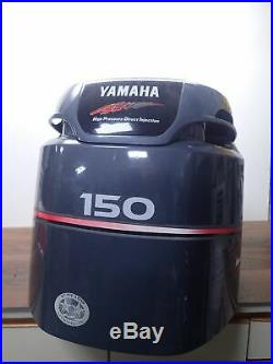 2001 Yamaha Outboard 150 HPDI Hood Cover Top Cowling 68F-42610-40-4D