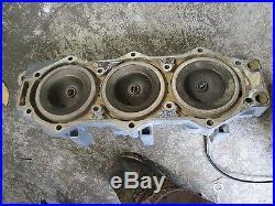 2002 Yamaha 175hp HPDI Outboard port cylinder head 68f-11121-00-94