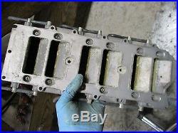 2002 Yamaha HPDI 200hp outboard z200txra intake manifold/reeds 65l-13610-01