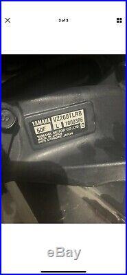 2003 VZ200TLRB Yamaha 200 hp Vmax HPDI outboard ECU