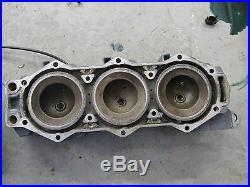 2003 Yamaha outboard LZ150TXRB hpdi 2 stroke port cylinder head 68F-11121-00-94