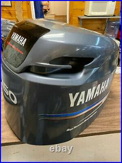 2004 Yamaha 150 HP HPDI 2 Stroke Outboard Hood Top Cowl Cover Freshwater MN