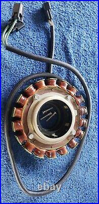 2004 Yamaha 150 hp HPDI 2 stroke outboard stator and pulser assembly