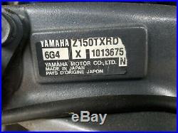 2004 Yamaha HPDI 150hp 2 stroke outboard intake manifold, throttle body Assembly