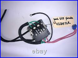2006 225 HP Yamaha HPDI Outboard REGULATOR & RECTIFIER 60V-81960-01-00 LOT TG3