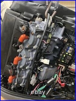 (3) 2004 Yamaha 300 HP Hpdi Outboard Motors Read Description