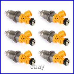 6Pc Fuel Injector Fit 2003-2020 Yamaha Outboard HPDI 250 300HP 60V-13761-00-00 A