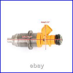 6Pcs Fuel Injector Fit 2003-2020 Yamaha Outboard HPDI 250 300HP 60V-13761-00-00
