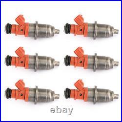 6pcs Fuel Injector 68F-13761-00-00 E7T05071 Fit Yamaha Outboard HPDI 150-200 CN
