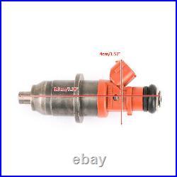 6pcs Fuel Injector 68F-13761-00-00 E7T05071 Fit Yamaha Outboard HPDI 150-200 F2