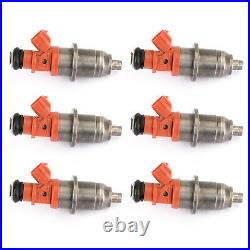 6x Fuel Injector 68F-13761-00-00 E7T05071 Fit Yamaha Outboard HPDI 150-200 RA