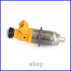 6x Fuel Injector Fit 03-20 Yamaha Outboard HPDI 250 300HP 60V-13761-00-00 Yellow