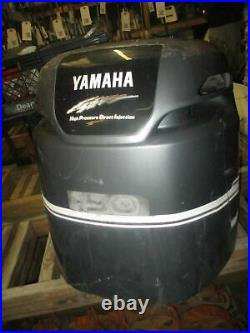 Yamaha 150hp HPDI Outboard Top Cowling For Repair