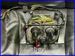 Yamaha F-150 HPDI OEM Outboard Dual Key Switch Panel