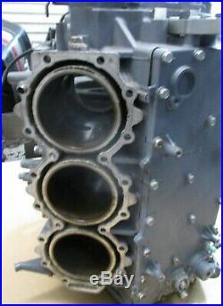 Yamaha HPDI Outboard Motor V6 225 HP 250 HP power head block and crankcase