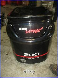 Yamaha HPDI VMAX 200hp outboard top cowling